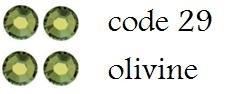 29 2mm olivine +/-800 stuks