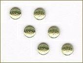 3mm glitteries lemon (9) +/- 400 stuks