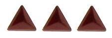 driehoekje rood +/- 40 stuks