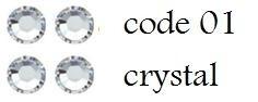 01 3mm cristal +/-400 stuks