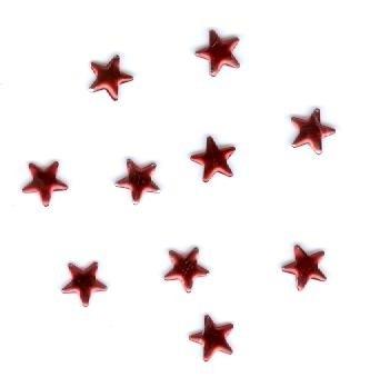 ster rood 6mm 100 stuks