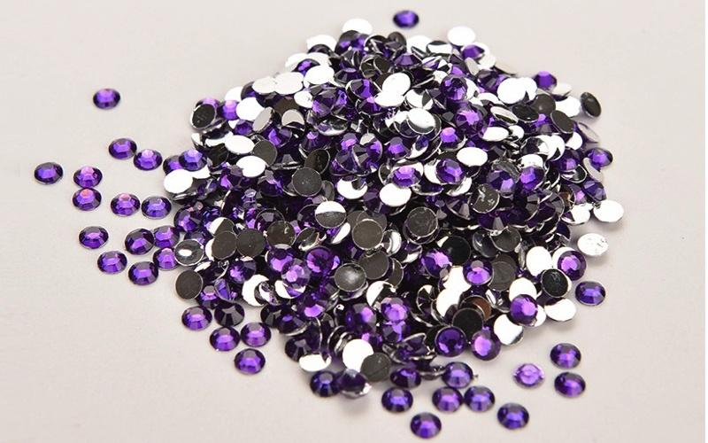 plakstenen purple 4mm +/- 1000 stuks