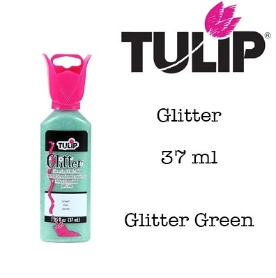 3d verf glitter green 37ml