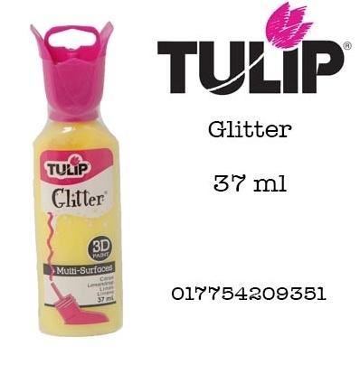 3d verf glitter citron 37ml