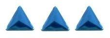 driehoekje blauw +/- 40 stuks