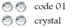 Pakket XL crystal 4mm 2200 stuks (alleen met volle spaarkaart gratis mee te bestellen)