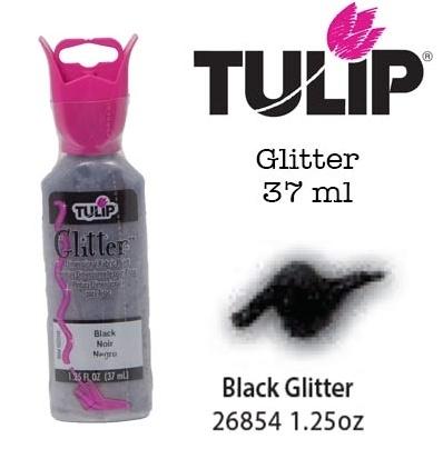 3d verf glitter black 37ml