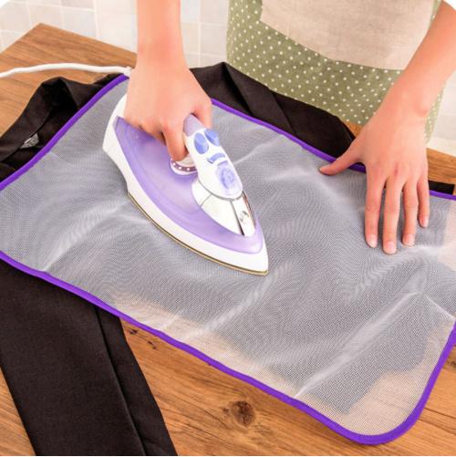 mesh stof protectie strijkdoek (let op!)