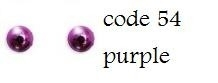 54 3mm domestuds purple 200 stuks