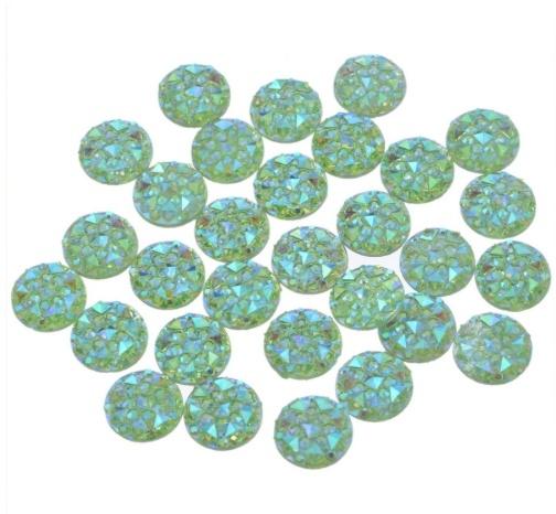 diamond peridot 10 stuks (10mm)