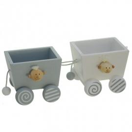 houten wagon
