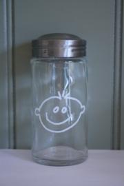 kruidenpotje glas jongen