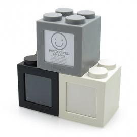 Fotokubusjes zwart-wit-grijs per set van 3