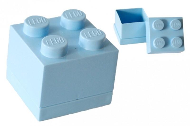 Lego doopsuiker doosje lichtblauw