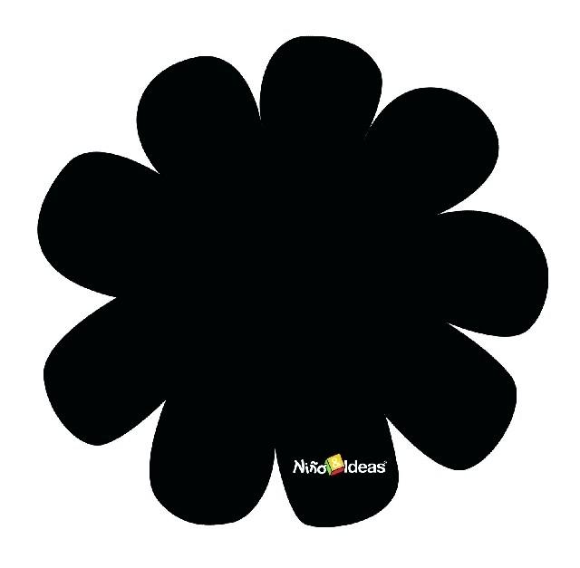 Krijtbordsticker bloem