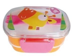 lunchbox jungle roze/oranje