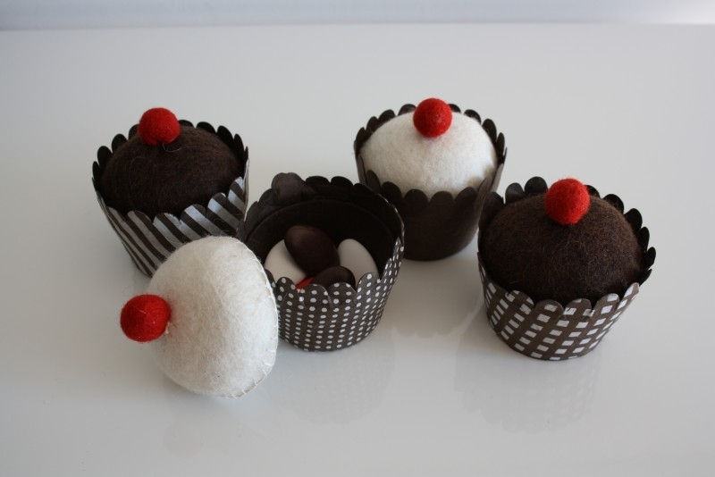 Cupcakes bruin