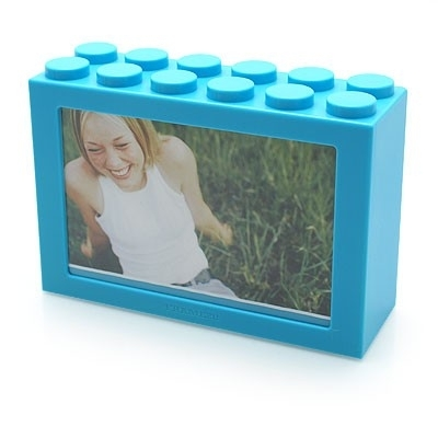 Foto opbergbox turquoise