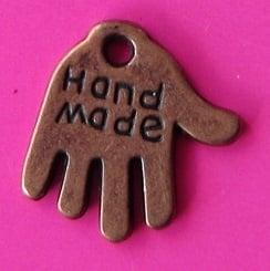 Charm Hand B1391 K (per 8)