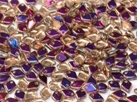 Dragon Scale Bead Crystal Sliperit (per 5 gram)