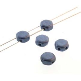 Honeycomb 6 mm Jet Metallic Suede Blue (per 30)