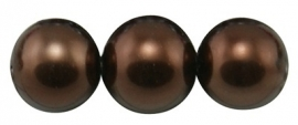 Glasparel Saddle Brown 8 mm B40 (per 80 cm streng)