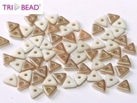 Tri-Bead Chalk White Celsian Matted (5 g.)