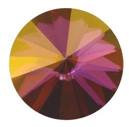 Swarovski Rivoli 12 mm Crystal Lilac Shadow (per stuk)
