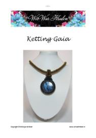 Pattern Necklace Gaia (PDF-File)
