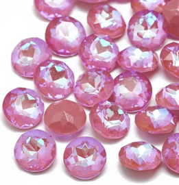 Glas Chaton SS39 A-Kwaliteit Crystal Pink Raspberry DeLite (per 3)