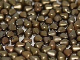 Spiky Button 4,5 x 6,5 mm Zinc Iris (per 25)