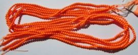 Swarovski Parels 3 mm Neon Orange (per 25)