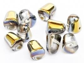 Gumdrops 7 x 10 mm Crystal Marea (per 14)