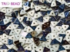 Tri-Bead Chalk White Azuro Matted (5 g.)