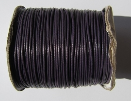 Waxed Cord 1,5 mm French Lilac W072 (1 meter)