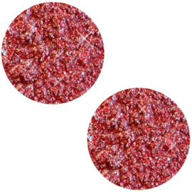 Polaris Cabochon Munt Plat 20 mm Goldstein Siam Red (per stuk)