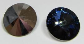 Swarovski Rivoli 18 mm Crystal Peacock Eye (per 1)