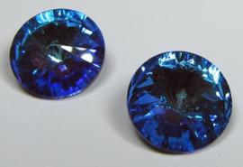 Glass Rivoli 12 mm Crystal Bordeaux DeLite (per 1)