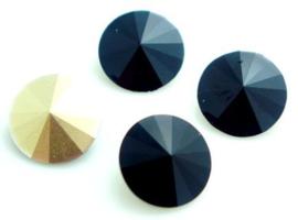Resin Rivoli 10 mm Black (per 4)