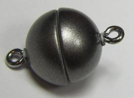 Magnetic Clasp Acrylic Mat Granite 12 mm S922 (per 1)