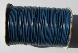 Waxed Cord 1,5 mm Dark Capri Blue W087 (1 meter)