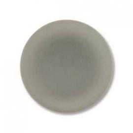 Lunasoft Cabochon Munt 18 mm Grey (per stuk)