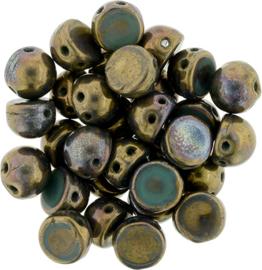 CzechMates Cabochon Oxidized Bronze (per 5 gram)