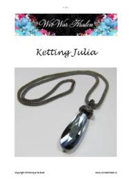 Pattern Necklace Julia (PDF-File)
