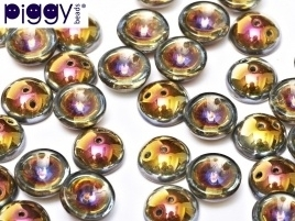 Piggy Beads 4 x 8 mm Crystal Marea (per 18)
