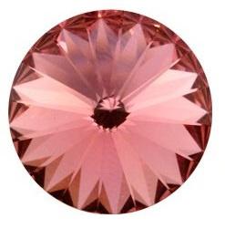 Swarovski Rivoli 14 mm Rose Peach (per 1)