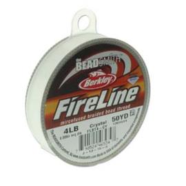 Fireline Crystal 0,15 mm 4 LB (per rol van 45 meter)