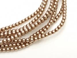 Glass Pearls Cocoa 4 mm (46 cm strand)