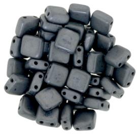 CzechMates Tiles Matte - Hematite (per 22)
