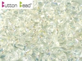 Button Bead Crystal AB (per 26)